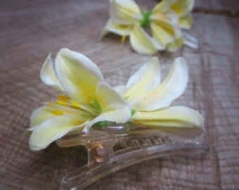 Lily Hair Clip ~2 pieces #100936