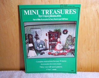Mini Treasures How To Make Accessories For Every Room In Your Doll House