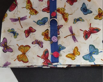 Butterfly Harness with flowers