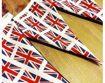 Union Jack Great Britain flag bunting