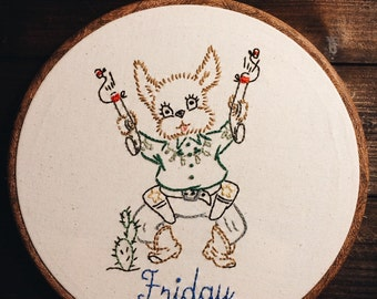 "Friday! 10"" Hoop Frame"