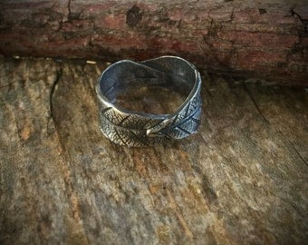 Leaf Ring Silver, Metal Clay Jewelry, Fine Silver Ring, Custom Ring