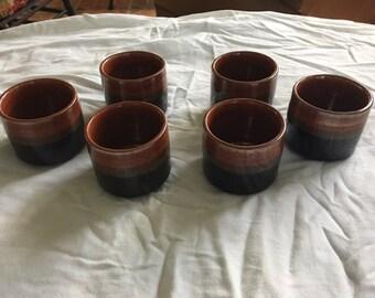 Vintage  Saki - Tea Cups - Set of 6