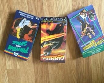 Gammera, Flash Gordon, Phantom from Space - VHS