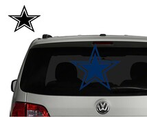 Dallas Cowboys Decal Sticker for Car,  Truck, Suv, Laptop, Man Room. macbook,sticker, football, sports, vinyl decal