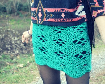 Crochet mini skirt beginner pattern - Vortex