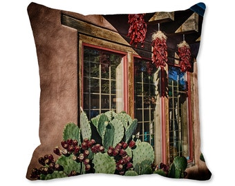 Santa Fe Decor - Photo Pillow - Southwest Pillow - Nature Decor - Southwest Decor - New Mexico Throw Pillow