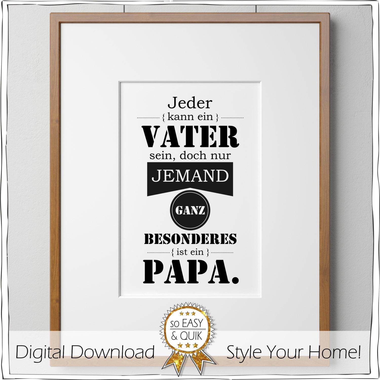 Wandbild f r papa vatertagsgeschenk vatertag geschenk zum - Geschenk basteln papa ...