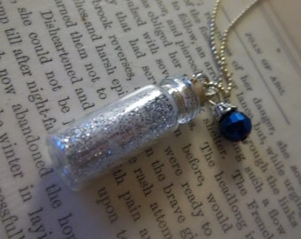 Blue Faerie Dust Necklace