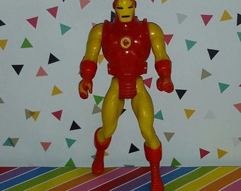 Vintage 1980s Mattel Secret Wars Iron Man Figure