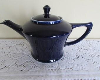 Hall Navy Blue Teapot 3 cup Capacity
