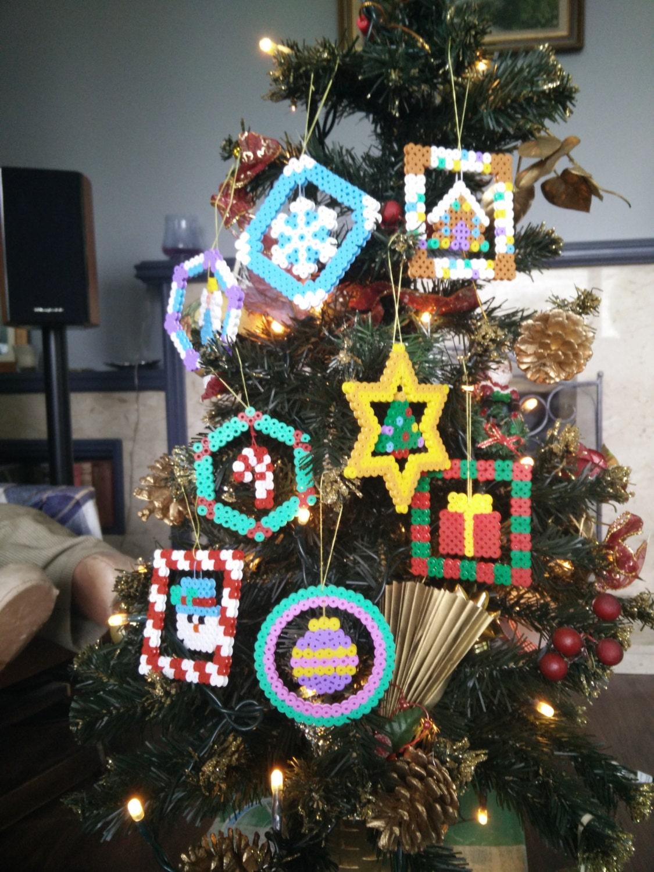 Decorating Ideas > Hama Bead Christmas Decorations Various By CrackBrainCrafts ~ 040711_Christmas Decoration Ideas Beads
