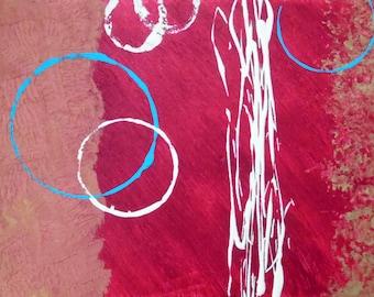 "12x16 Original Art ""Tahoe Texture"""
