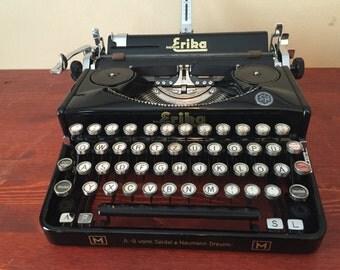 Erika M - Refurbished - Refreshed - New Platen - Typewriter