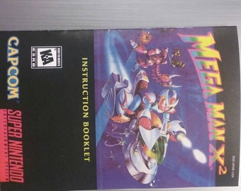 Mega Man X2 manual