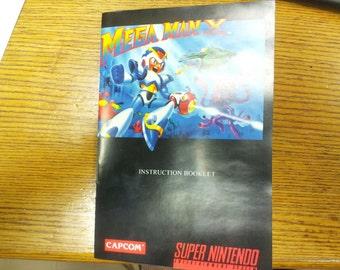 Mega Man X manual