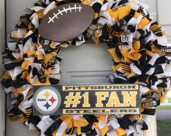 Pittsburg Steelers Wreath