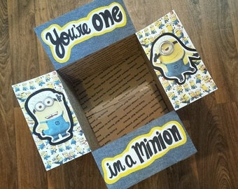 Care Package Decorating Kit- Minions