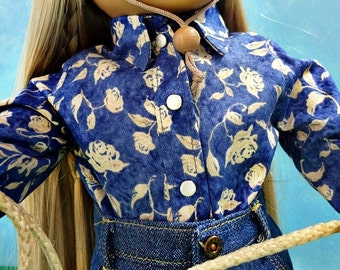 Western Shirt - 18 inch Doll Clothes