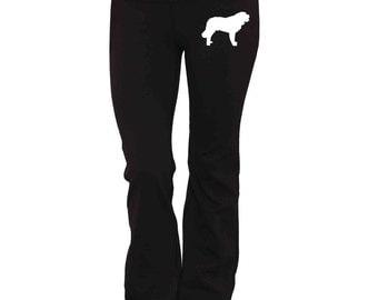 Saint Bernard Dog Yoga Pants