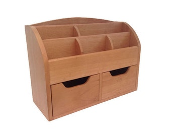 Vintage Desk Organizer or Office Organizer