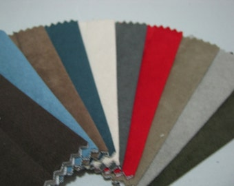 Scrap Microfiber Fabric for Crafts/ 10pcs / 14 cm x 10 cm (MF01)