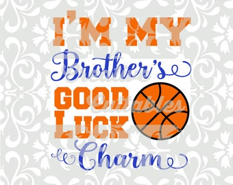 Basketball Sister SVG for  Silhouette or other craft cutters (.svg/.dxf/.eps)