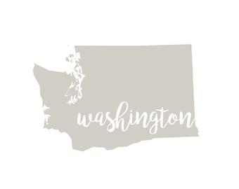 Washington State Printable