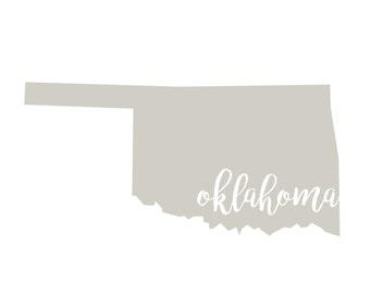 Oklahoma Printable