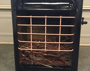 Repurposed Vintage Gas/Propane Heater