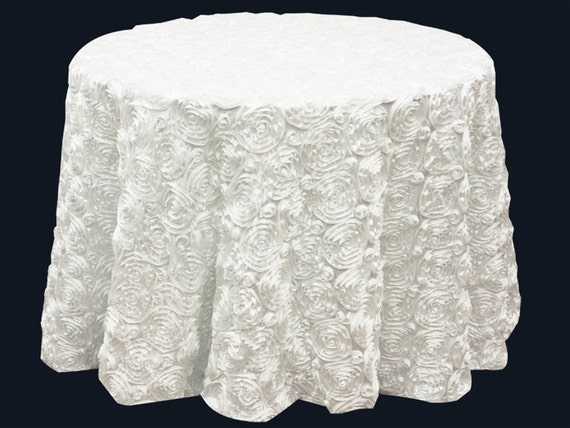 average size of wedding cake table items similar to satin rosette tablecloth size 120 10946