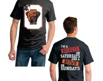 Buckeye on Saturday Brown on Sunday