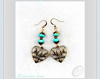 Forget-me-not earrings     Introductory offer