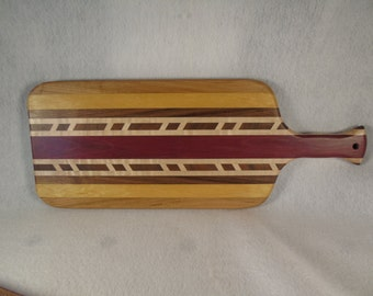 Exotic wood bread board - cutting board