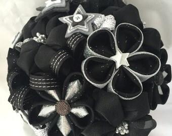 Star Bouquet, Recital Bouquet, Fabric Handmade Flower Bouquet, Wedding Bouquet