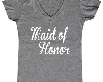 Maid of Honor - Ladies' V-neck