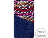 Phone box Wax African Prints XVII   PATRICIA PRINTS