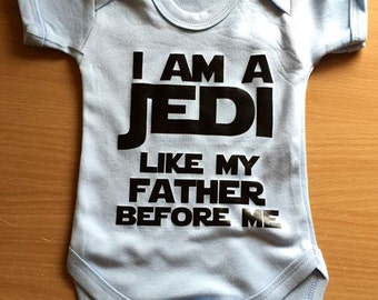 I am a jedi like my father before me Baby Vest / Body Suit / Play Suit