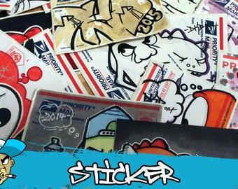 10 Various Handdrawn Graffiti Sticker by DKDrawing