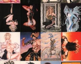 Olivia de Berardinis OLIVIA Series I Trading Card Set : Complete 90 Card Set Comic Images 1992