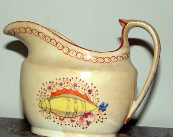 English New Hall Porcelain Milk Jug 18th century