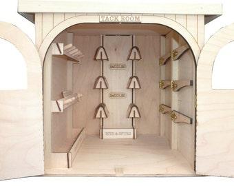 Model Horse Tack Room