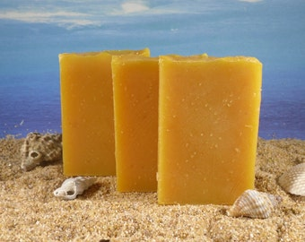 Pumpkin Soap  Unscented Soap / Mini Soap, Natural Soap, Guest Soap, Facial Soap, Cold Process Soap, Handmade Soap, Small Soap