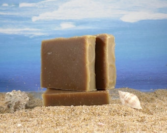 Herbal Shampoo Sample Bar / Natural Hair Care, Natural Solid Shampoo, Horsetail Nettle Tea Tree Rooibos Rosemary Soap, Handmade, Mini