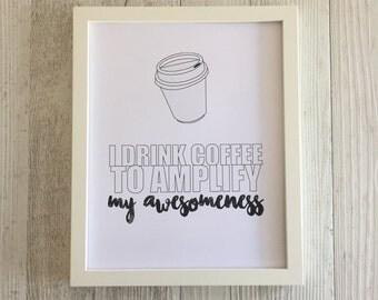 Coffee = awesomeness