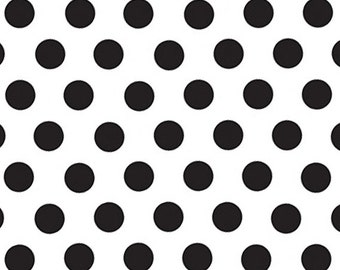"Black Polka Dots Tissue Paper - 20"" X 30"" - 24 Sheet Count"
