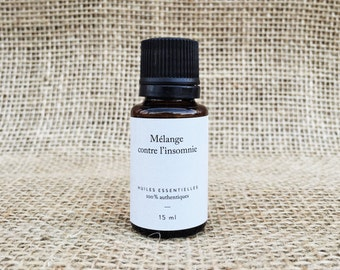 Blend of essential oils against insomnia - bottle of 15 ml