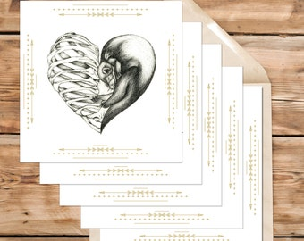 5 Cards Sets - Pick any 5 of our Greeting cards - Make your own set!
