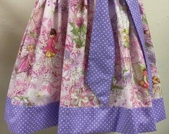 Pretty Michael Miller Fairy Fabric Girls Dress Summer Approx 3 yrs