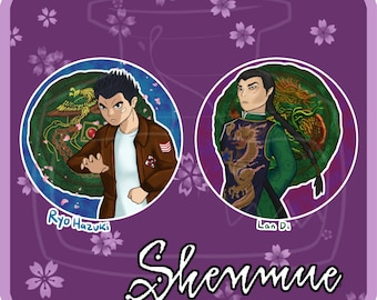 Shenmue Buttons